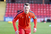 York City defender, on loan from Newcastle United, Kyle Cameron  during the Sky Bet League 2 match between York City and Newport County at Bootham Crescent, York, England on 16 January 2016. Photo by Simon Davies.