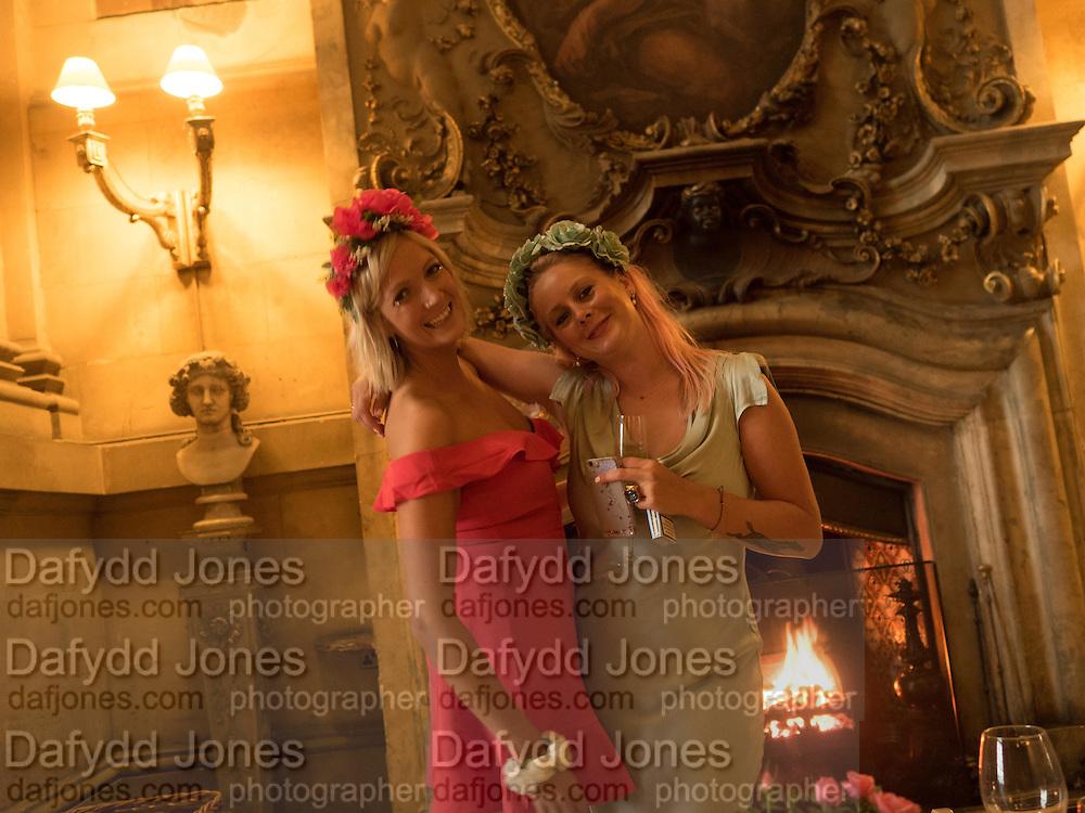 HANNAH CARR-ELLISON; GRANIA HOWARD, Bella Howard 30th birthday, Castle Howard, Dress code: Flower Fairies and Prince Charming, 3 September 2016