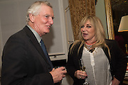 ANDREW LYCETT; HELEN FIELDING, Everyman 25th Anniversary party, Spencer House. St. James' Place. London. SW1. 26 October 2016
