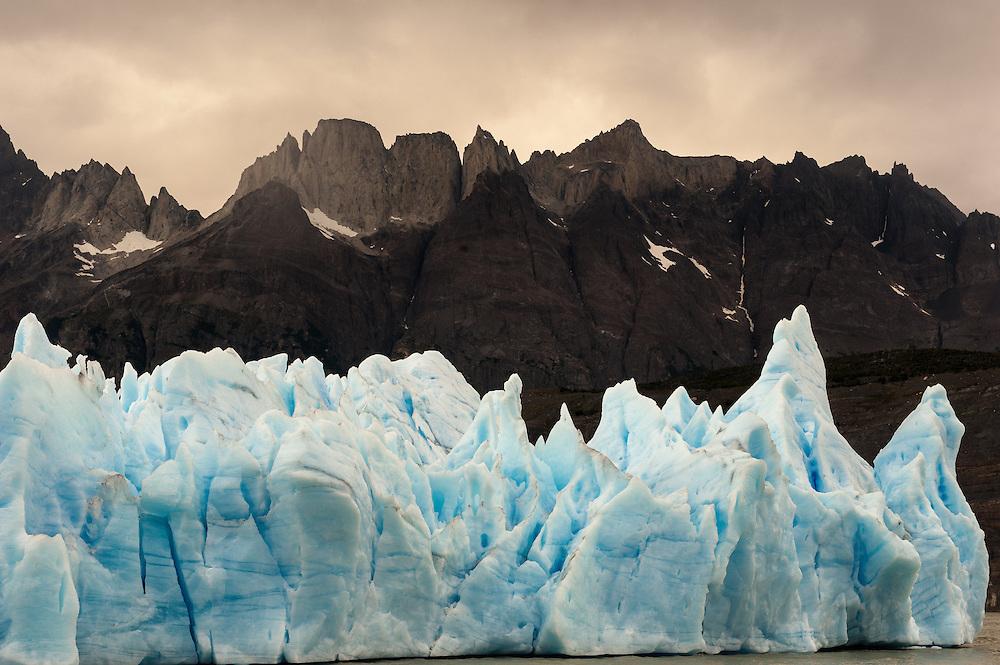 Glacier Grey, Torres del Paine, Patagonia, Chile