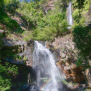 Khun Phra Wo Waterfall in Khun Phra Wo National Park is situated in an approximate area of 220 square kilometers , covering the areas of Mae Lamao and Mae Ramat National Reserved Forests, Tak Province.