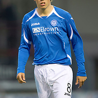St Johnstone FC....Season 2011-12<br /> Murray Davidson<br /> Picture by Graeme Hart.<br /> Copyright Perthshire Picture Agency<br /> Tel: 01738 623350  Mobile: 07990 594431