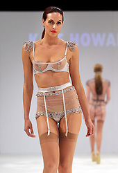 Lingerie designs by student Kate Howard at the De Montfort University show  at Graduate Fashion Week in London , Monday, 3rd June 2013<br /> Picture by:  Stephen Lock / i-Images