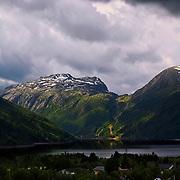 Stormy skies over Røldal, Hordaland, Norway.