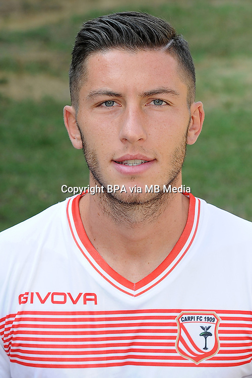 Italian League Serie A -2015-2016 / <br /> ( Carpi FC 1909  ) - <br /> Luca Marrone