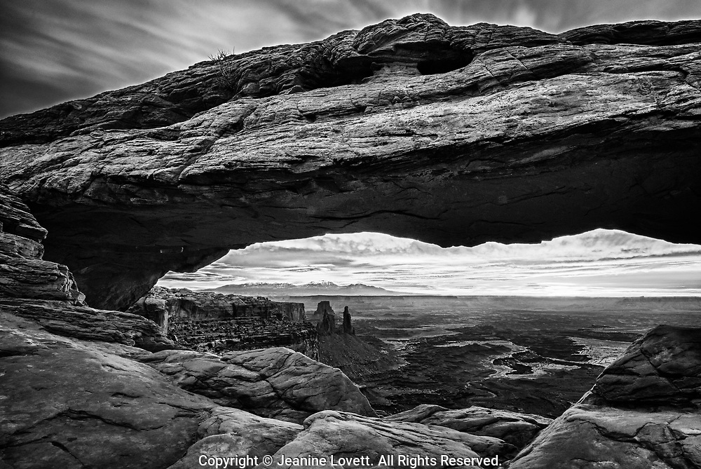 Mesa arch,  Canyonlands National Park, Utah.