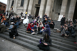 St Paul's Cathedral Occupy London protest camp