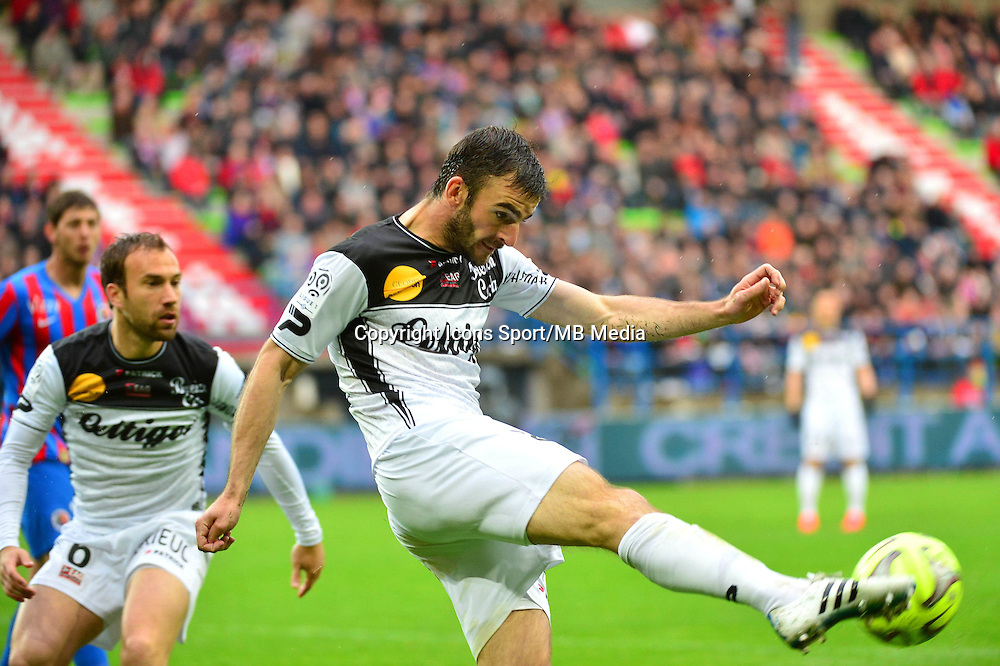 Christophe KERBAT - 25.04.2015 - Caen / Guingamp - 34eme journee de Ligue 1<br /> Photo : David Winter / Icon Sport