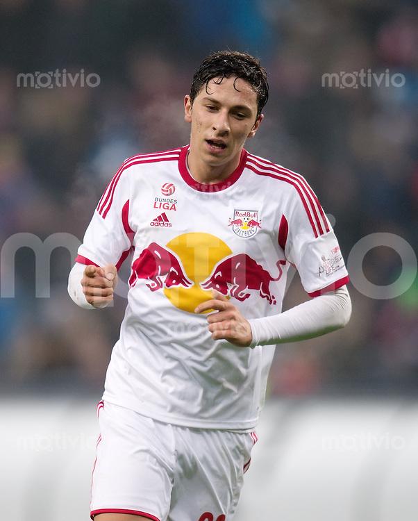 FUSSBALL International Testspiel 2013/2014 FC Red Bull Salzburg - FC Bayern Muenchen      18.01.2014 JUBEL Red Bull Salzburg; Torschuetze zum 3-0 Robert Zulj