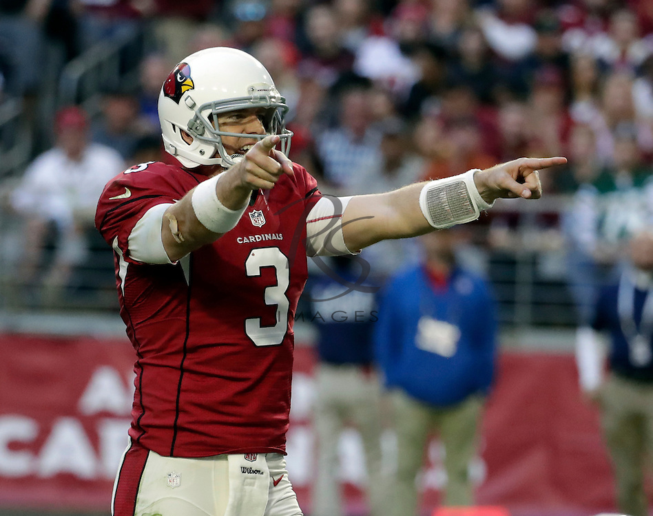 Arizona Cardinals quarterback Carson Palmer (3) during an NFL football game against the Washington Redskins, Sunday, Dec. 4, 2016, in Glendale, Ariz. (AP Photo/Rick Scuteri)