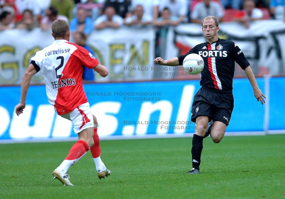19-08-2007 VOETBAL: UTRECHT - FEYENOORD: UTRECHT<br /> Feyenoord wint met 3-0 in de Galgenwaard / Tim de Cler en Tim Cornelisse<br /> &copy;2007-WWW.FOTOHOOGENDOORN.NL
