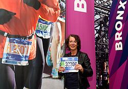 30-10-2015 USA: NYC Marathon We Run 2 Change Diabetes day 2, New York<br /> Na Expo met de groep op de fiets NY verkennen / Expo hal, inschrijving, Igna