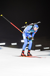 February 11, 2018 - Pyeongchang, Gangwon, South Korea - Dominik Windisch of Italy  at Mens 10 kilometre sprint Biathlon at olympics at Alpensia biathlon stadium, Pyeongchang, South Korea on February 11, 2018. (Credit Image: © Ulrik Pedersen/NurPhoto via ZUMA Press)
