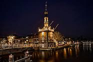 Noord-Holland bij nacht