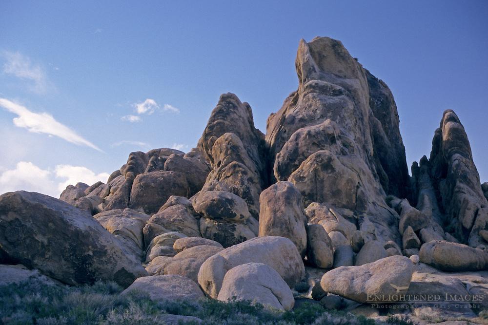 Rocks in the Alabama Hills, near Lone Pine, Eastern Sierra, California