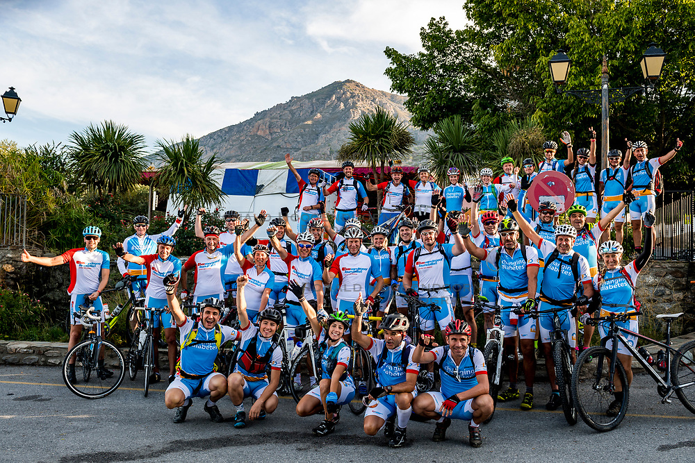 16-09-2018 ESP: BvdGF La Vuelta a Sierra Nevada day 1, Capileira<br /> First day of the mountainbike and cycling challenge from Niguelas to Capileira