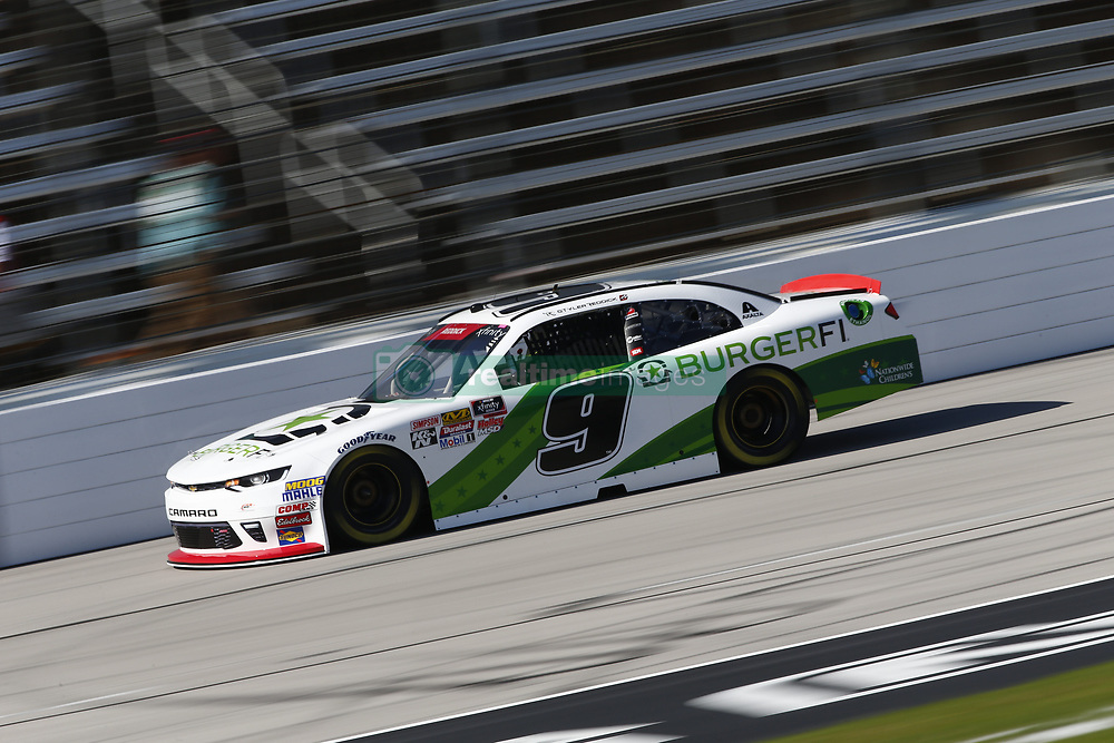 November 2, 2018 - Ft. Worth, Texas, United States of America - Tyler Reddick (9) takes to the track to practice for the O'Reilly Auto Parts Challenge at Texas Motor Speedway in Ft. Worth, Texas. (Credit Image: © Justin R. Noe Asp Inc/ASP via ZUMA Wire)