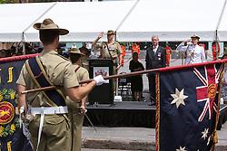 6th Battalion Royal Australian Regiment to Exercise the Right to  - December 5, 2015: Brisbane CBD, Brisbane, Queensland, Australia. Credit: Pat Brunet / Event Photos Australia
