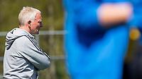 AMSTELVEEN - Hockey hoofdklasse dames Hurley-Pinoke (0-0). Pinoke degradeert. Pinoke coach Hans van Oostindie. COPYRIGHT KOEN SUYK