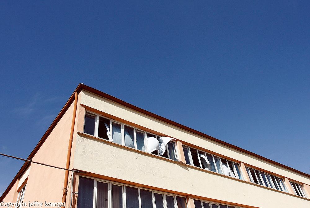 A school building in Gaziantep, Turkey