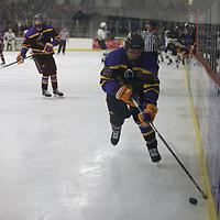 Men's Ice Hockey: St. Norbert College Green Knights vs. University of Wisconsin-Stevens Point Pointers