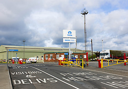 © Licensed to London News Pictures. 23/11/2012. Carlin How, Teesside, England. Steel giant Tata is cutting 900 jobs and closing 12 sites under plans to improve competitiveness  FILE PICTURE: The Tata steel plant at Carlin How, Teesside...Photo credit : Ian Forsyth/LNP