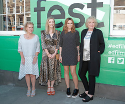 Edinburgh International Film Festival, Thursday, 28th June 2018<br /> <br /> PATRICK (SPECIAL SCREENING)<br /> <br /> Pictured:  Writer & producer Vanessa Davies, Beattie Edmondson, Amy Macdonald and director Mandie Fletcher <br /> <br /> <br /> (c) Alex Todd | Edinburgh Elite media