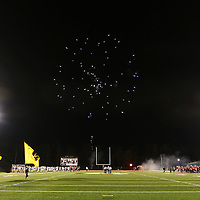 Lauren Wood | Buy at photos.djournal.com<br /> Fireworks go off before the start of Friday night's game at Corinth.