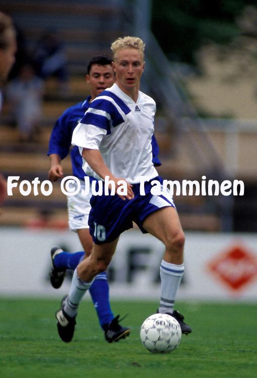10.06.1995.Jasse Jalonen - Finland U-21.©JUHA TAMMINEN