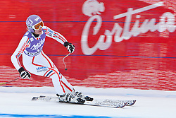 19.01.2011, Tofana, Cortina d Ampezzo, ITA, FIS World Cup Ski Alpin, Lady, Cortina, Abfahrt 1. Training, im BildIngrid Jacquemod (FRA, #12) // Ingrid Jacquemod (FRA) during FIS Ski Worldcup ladies downhill first training at pista Tofana in Cortina d Ampezzo, Italy on 19/1/2011. EXPA Pictures © 2011, PhotoCredit: EXPA/ J. Groder