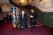 BERNIE ECCLESTONE; FABIANA FLOS, CIRQUE DU SOLEIL LONDON PREMIERE OF VAREKAI. Royal albert Hall. 5 January 2009
