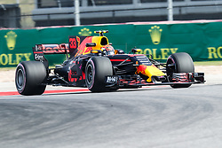 October 20, 2017 - Austin, Texas, U.S - Toro Rosso driver Max Verstappen (33) of Netherlands in action before the Formula 1 United States Grand Prix race at the Circuit of the Americas race track in Austin,Texas. (Credit Image: © Dan Wozniak via ZUMA Wire)