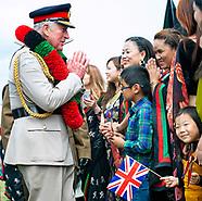 Prince Charles Visits Royal Gurkha Rifles