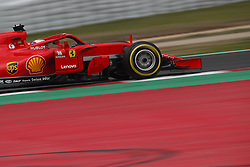 February 26, 2018 - Barcelona, Catalonia, Spain - February 26, 2018 - Circuit de Barcelona-Catalunya, Montmelo, Spain - Formula One preseason 2018; Kimi RAIKKONEN of Team Scuderia Ferrari, Ferrari SF71H during the afternoon session. (Credit Image: © Eric Alonso via ZUMA Wire)