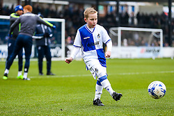 Mascots warm up - Rogan Thomson/JMP - 11/02/2017 - FOOTBALL - Memorial Stadium - Bristol, England - Bristol Rovers v Bradford City - Sky Bet League One.