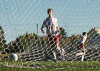 Soccer Laconia versus Interlakes.  Karen Bobotas for the Laconia Daily Sun