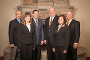 John Watkins, Gary Gonzalez, Kevin Lenhardt, Jerry Ciz, Liz Burgin, and Jennell Acklin at The Property Exchange.
