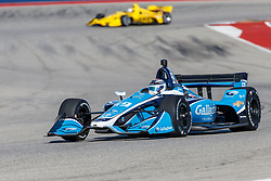 February 12, 2019 - U.S. - AUSTIN, TX - FEBRUARY 12: Max Chilton (59) in a Chevrolet powered Dallara IR-12 at turn 13 during the IndyCar Spring Training held February 11-13, 2019 at Circuit of the Americas in Austin, TX. (Photo by Allan Hamilton/Icon Sportswire) (Credit Image: © Allan Hamilton/Icon SMI via ZUMA Press)