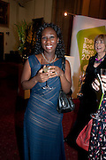 SHORTLISTER AUTHOR- ESI EDUGYAN, Man Booker prize 2011. Guildhall. London. 18 October 2011. <br /> <br />  , -DO NOT ARCHIVE-© Copyright Photograph by Dafydd Jones. 248 Clapham Rd. London SW9 0PZ. Tel 0207 820 0771. www.dafjones.com.