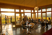 Wine Tasting, Bethel Heights Vineayrd & winery, fall colors, Eola-Amity Hils AVA, Willamette Valley, Oregon