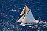 "France Saint - Tropez October 2013, Classic yachts racing at the Voiles de Saint - Tropez<br /> <br /> C,CAG,PARTRIDGE,""21,06"",COTRE AURIQUE/1885,J BEAVOR WEGG"