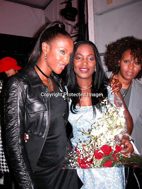Naomi Campbell &amp; Marie Claudinette Pierre-Jean<br />
