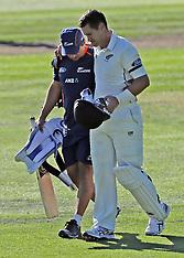 Dunedin-Cricket, New Zealand v South Africa, 1st test, day 2
