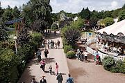 &quot;Bagatelle&quot; est le premier parc d'attractions construit en France, Merlimont, pr&egrave;s du Touquet, Nord-Pas-de-Calais, France.<br /> &quot;Bagatelle&quot; is the first amusement park built in France, town of Merlimont, close to Le Touquet, Nord-Pas-de-Calais region, France.
