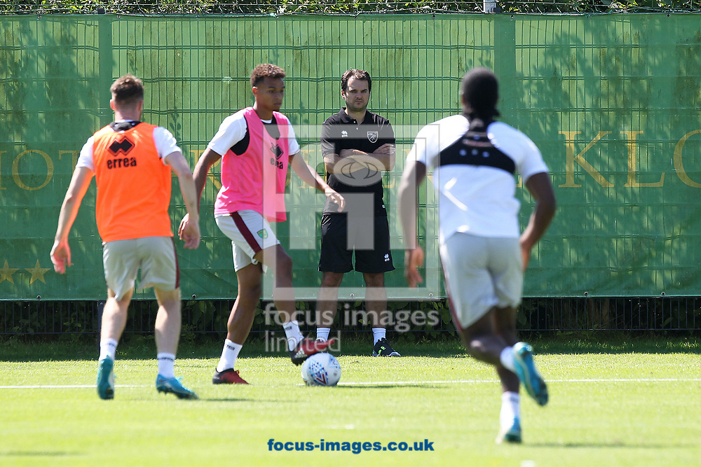 Norwich City Sporting Director Stuart Webber watches on during the Norwich City Pre-Season Training session at Hotel Klosterpforte, Harsewinkel, Germany<br /> Picture by Paul Chesterton/Focus Images Ltd +44 7904 640267<br /> 18/07/2017