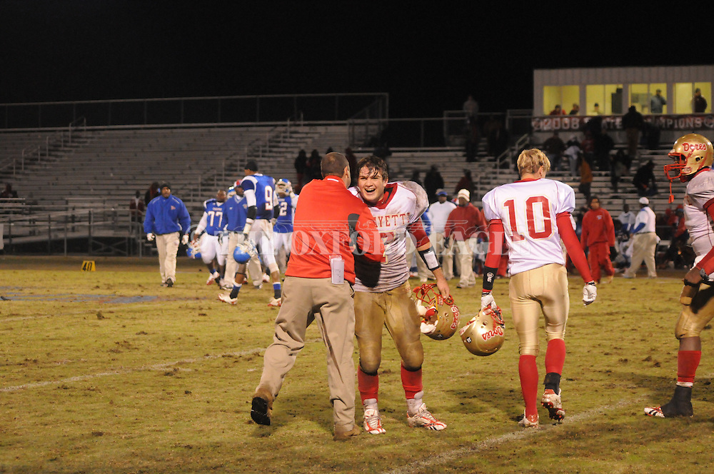 Lafayette High vs. Noxubee County on Friday, November 26, 2010. Lafayette High won 20-0 to advance to the state championship game.