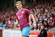 Scunthorpe United's Connor Townsend(3) during the EFL Sky Bet League 1 match between Scunthorpe United and Rotherham United at Glanford Park, Scunthorpe, England on 12 May 2018. Picture by Nigel Cole.