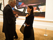 LADY SARAH CHATTO, Opening of Abstract Expressionism, Royal Academy, Piccadilly, London, 20 September 2016