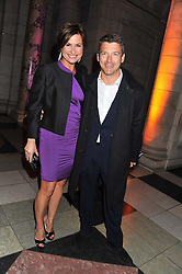 EMMA FORBES and GRAHAM CLEMPSON at the 50th birthday party for Jonathan Shalit held at the V&A Museum, London on 17th April 2012.