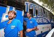 Milano 24 luglio 2013<br /> Basket media day nazionale italiana pallacanestro maschie<br /> nella foto Datome<br /> foto Ciamillo